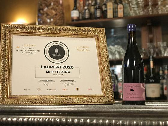 Touraine-Amboise, la grange Tiphaine, Côt vieilles vignes 2018