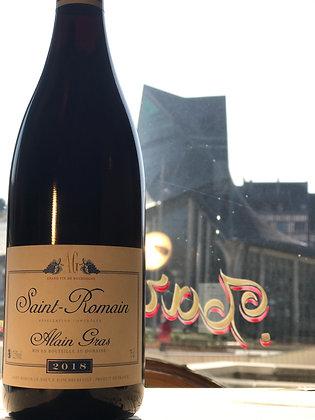 Saint Romain, Alain Gras 2018 rouge