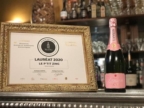 Lanson, Rosé Label, brut