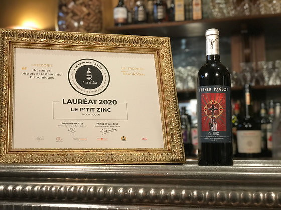 Languedoc, domaine Turner Pageot, G 230, 2015