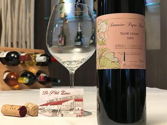 Coteaux du Languedoc, domaine Peyre Rose, Syrah Leone 2003