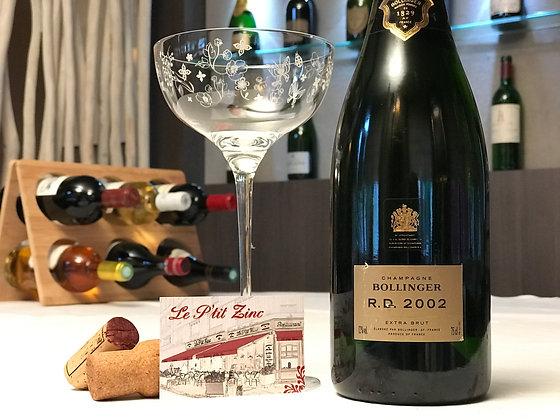 Bollinger, cuvée R.D., extra brut 2002