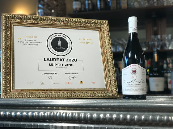 Gevrey-Chambertin, domaine Thierry Mortet, vignes belles 2017