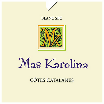 Côtes catalanes, Mas Karolina 2018 blanc