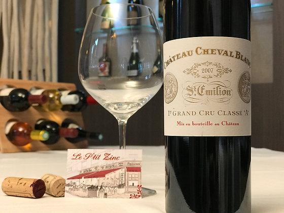 Saint-Emilion, grand cru classé «A», château Cheval Blanc 2007