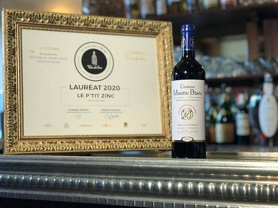 Bordeaux supérieur, château Moutte Blanc 2015