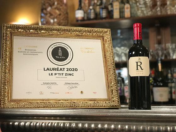 Côtes de Provence, domaine de Rimauresq, cuvée R 2016