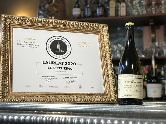 Mâcon Chardonnay, Bret Brothers, Climats les Crays 2019