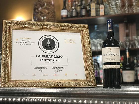 Minervois la Livinière, Gérard Bertrand, château Laville Bertrou 2018