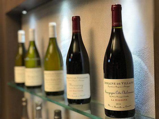 Bourgogne Côte Chalonnaise, domaine de Villaine, La Digoine 2019
