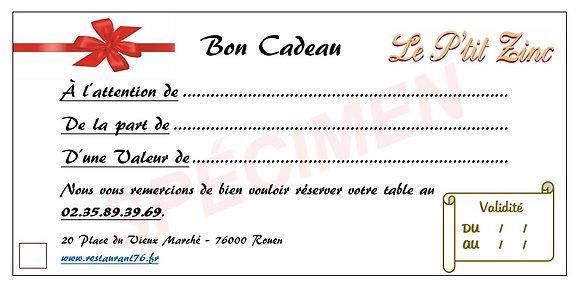 Bon Cadeau 50€