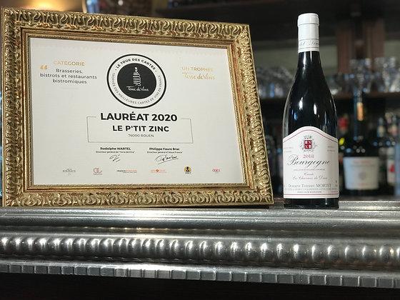 Bourgogne, domaine Thierry Mortet, les charmes de Daix 2018