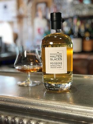 Whisky Français biologique, domaine des Hautes Glaces, Moissons, Single Malt