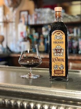 Kamok, liqueur de café, distillerie Vrignaud