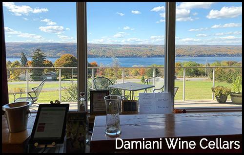 Damiani Wine Cellars Tasting Room
