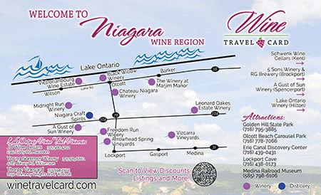 Niagara Wine Map