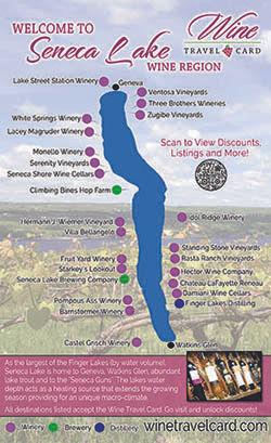Seneca Lake Wine Map