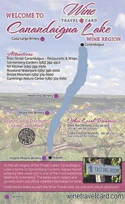 Canandaigua Lake Wine Map
