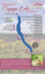 Cayuga Lake Wine Map