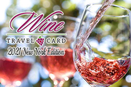 2021 Wine Travel Card (Printed)