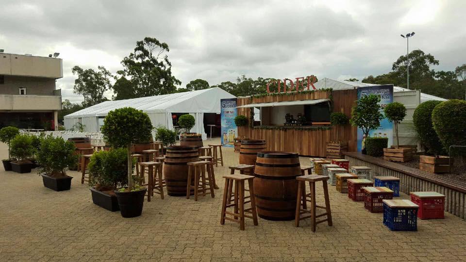 Wine Barrels Brisbane Ent Centre