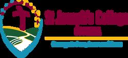 St Joseph's College logo colour landscap