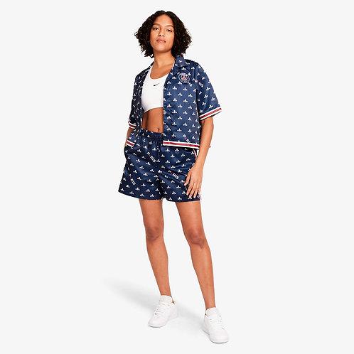 Nike Jordan Paris Saint-Germain Women's Short-Sleeve Printed Top