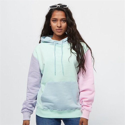 Multi Color Oversized Hooded Sweat Mixed Color