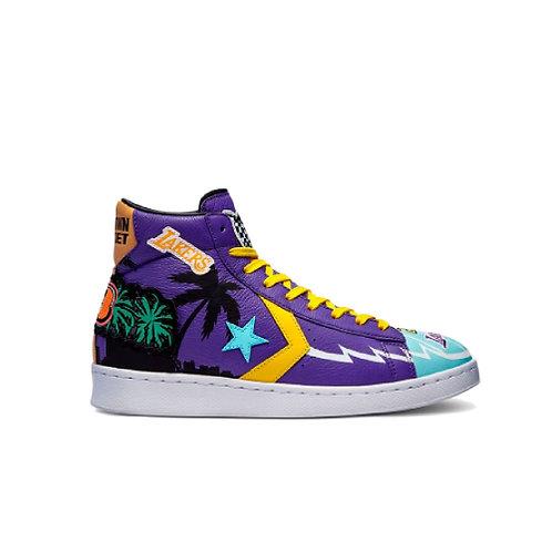 "Chinatown Market x NBA x Jeff Hamilton x Converse Pro Leather ""Lakers"""