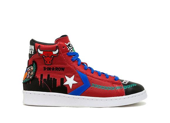 "Chinatown Market x NBA x Jeff Hamilton x Converse Pro Leather ""Chicago"""