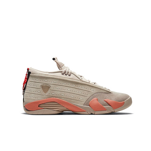 "CLOT x Air Jordan 14 Low ""Terracotta"""