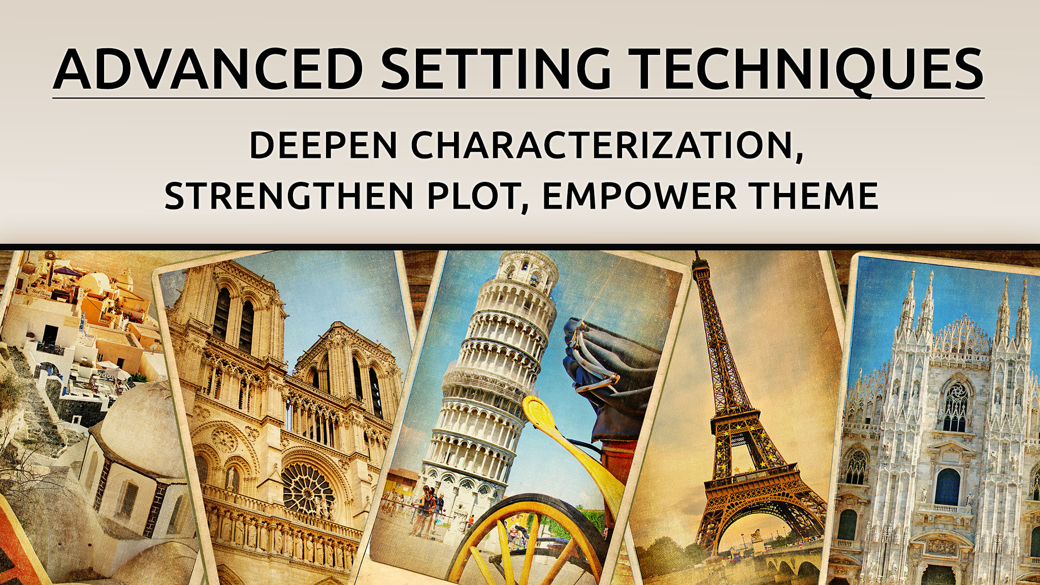 Advanced Setting Techniques banner