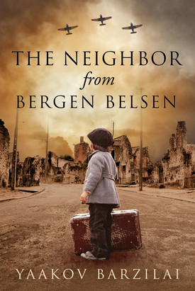 Book cover design for  The Neighbor from Bergen Belsen