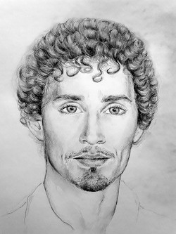 Robert Sheehan illustration Nada Orlic