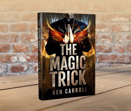 3D book Ken print The Magic Trick standa