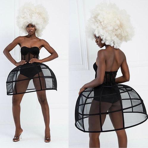 Reyna Vouge Sheer Dress