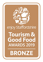 Enjoy Staffordshire Tourism and Good Food Bronze Award logo
