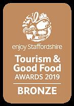 Enjoy Staffordshire Tourism and Good Food Bronze Award logo
