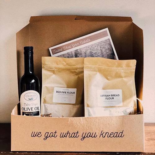 Bread Baking Kit | Toasted Wheat Germ Ciabatta