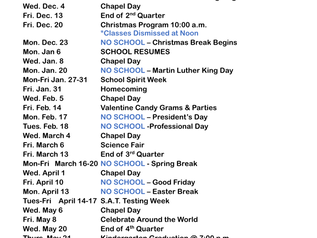 Here is the 2019-2020 Calendar