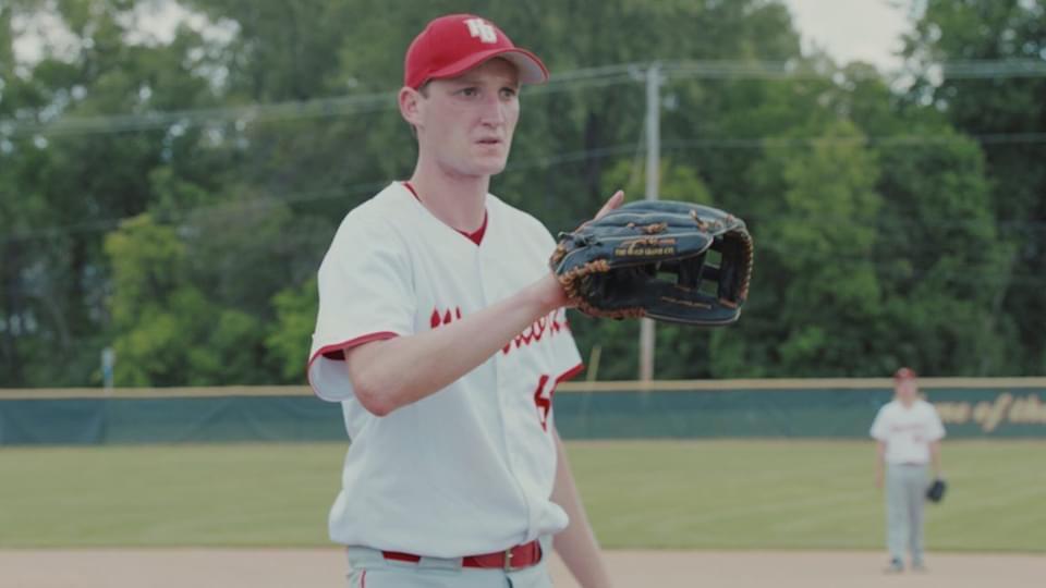 Wyatt in baseball uniform