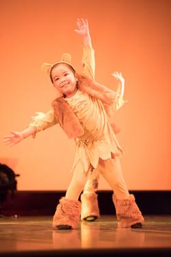 火曜日キッズダンス幼稚園クラス(ライオンキング)