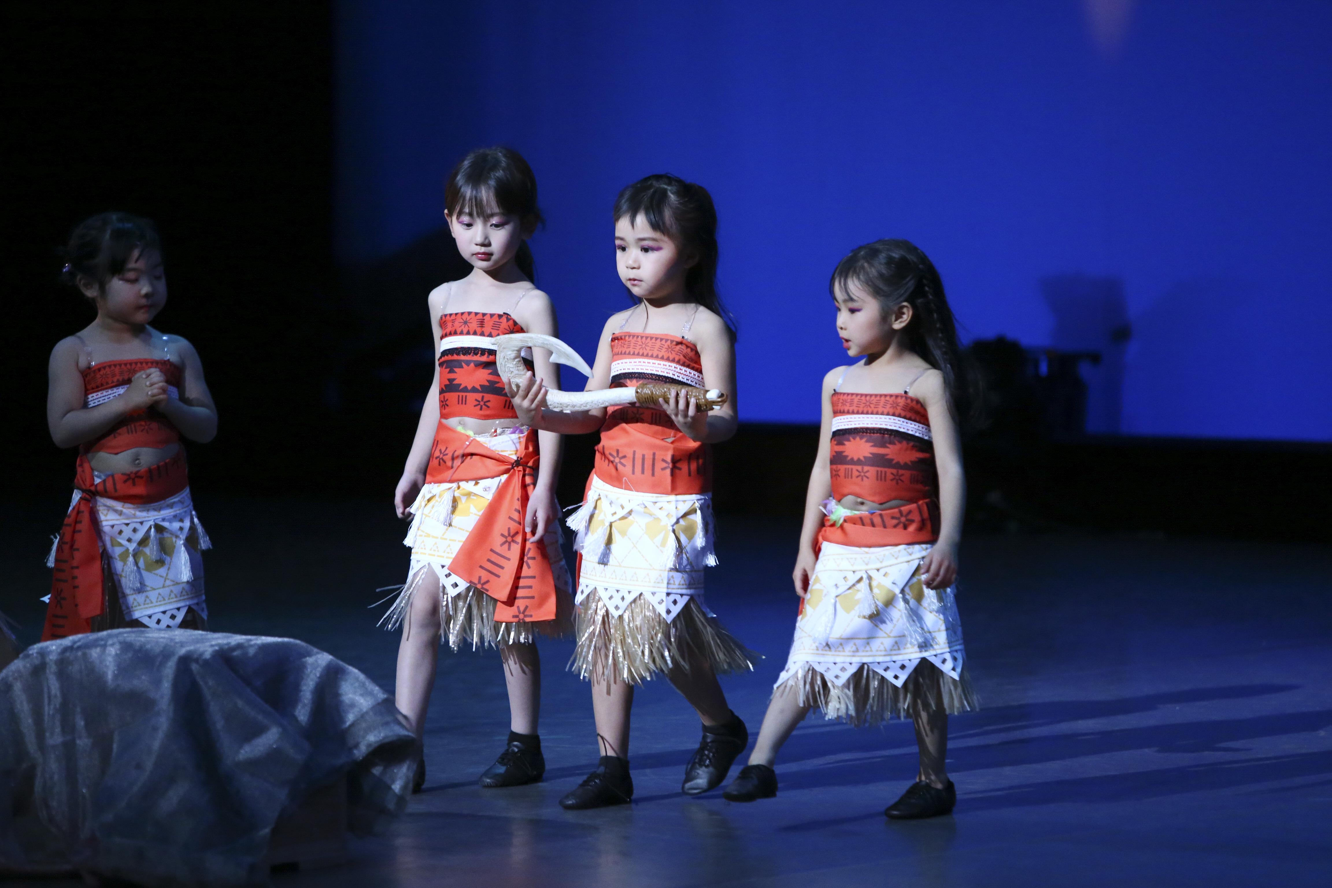 火曜日キッズダンス幼稚園クラス(MOANA)