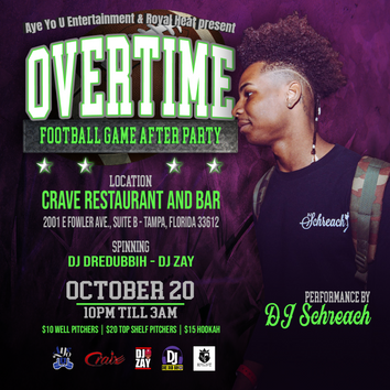 OVRTME After Party