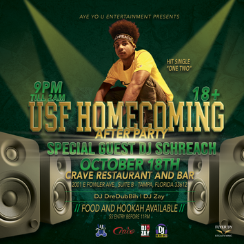 USF Homecoming Flyer
