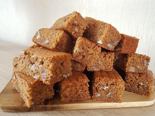 Vegan, Gluten & Wheat Free, Ginger and nut Slice