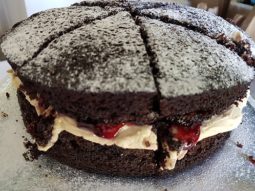Gluten, Wheat & Dairy Free, Chocolate Beetroot with jam of your choice