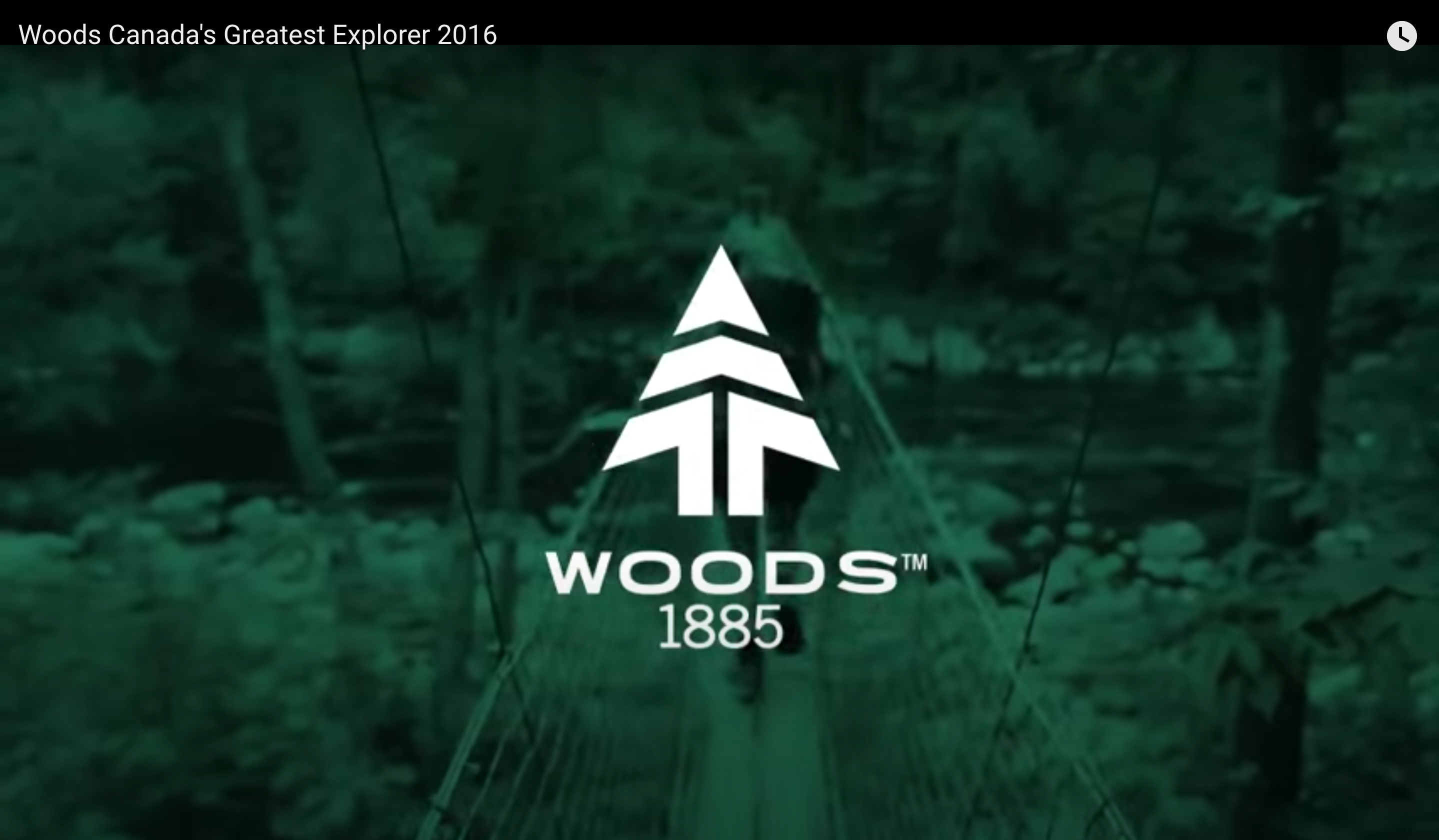 Woods Canada's Greatest Explorer 2016
