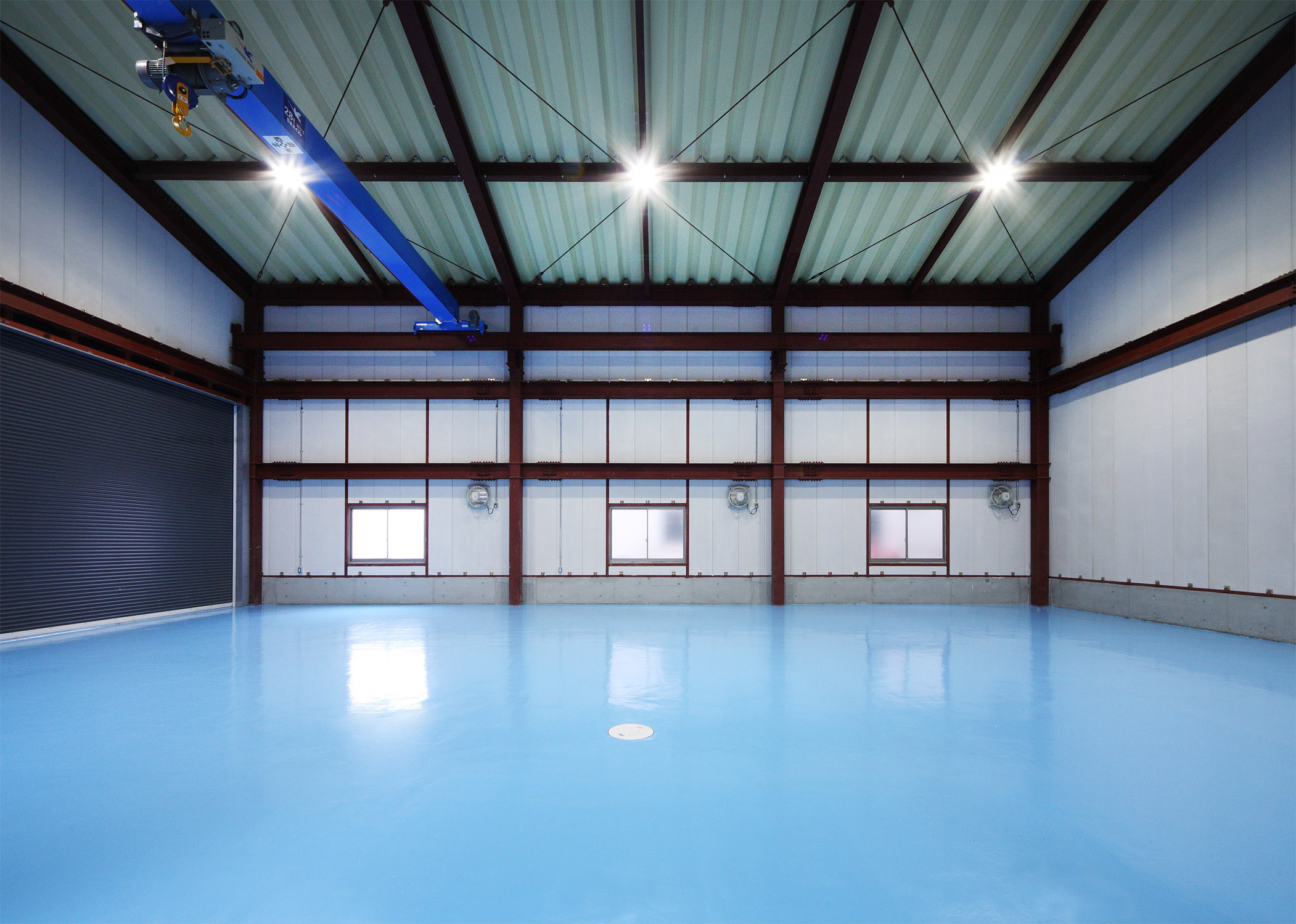 日本クロイド 倉庫