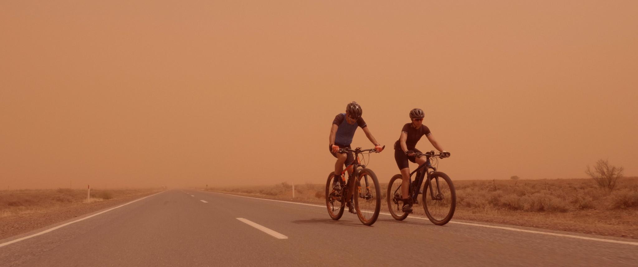 Riding through the Dust storm .jpg